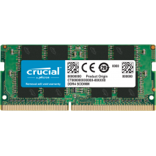 Оперативная память DDR4 SDRAM SODIMM 8Gb PC4-21300 (2666); Crucial (CT8G4SFRA266)
