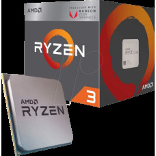 Процессор AMD Ryzen 3 2200G; Socket AM4; Box (YD2200C5FBBOX)