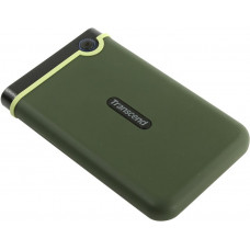 Жесткий диск USB 3.0 1000.0 Gb; Transcend StoreJet 25M3 Military Green Slim (TS1TSJ25M3G); 2.5''