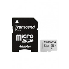 Карта памяти micro SDHC 32Gb Transcend 300S (TS32GUSD300S-A)