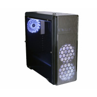 Корпус ATX Zalman N3  Window; Black