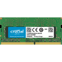 Оперативная память DDR4 SDRAM SODIMM 4Gb PC4-19200 (2400); Crucial (CT4G4SFS824A)