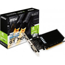 Видеокарта PCIEx16 2048Mb GeForce GT710 (GT 710 2GD3H LP); MSI