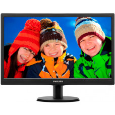 Монитор TFT 20'' TN Philips 203V5LSB26/10 (12*); Black