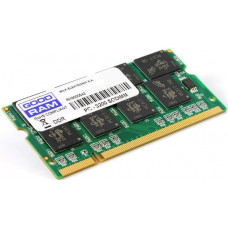 Оперативная память DDR SDRAM SODIMM 1Gb PC-3200 (400); GoodRAM (GR400S64L3/1G)