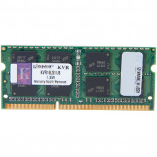 Оперативная память DDR3 SDRAM SODIMM 8Gb PC3-12800 (1600); Kingston (KVR16LS11/8)