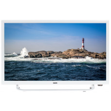 Телевизор LCD 24'' LED BBK 24LEM-1037/T2C; White