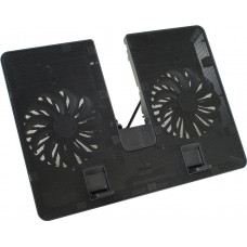 Система охлаждения DeepCool U PAL (DP-N214A5-UPAL) Metal+Plastic; 2xFan 140x140mm; Black