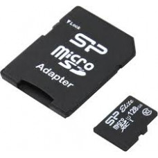 Карта памяти micro SDXC 128Gb SiliconPower Elite (SP128GBSTXBU1V10SP); Class 10; SD-adapter