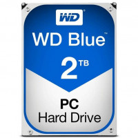 Жесткий диск SATAIII 2000.0 Gb; Western Digital Blue; (WD20EZAZ)