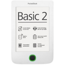 Электронная книга PocketBook 614 Basic 2 White (PB614-D-CIS)
